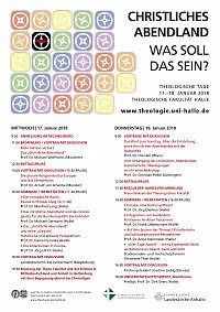 Theologische Tage 2018